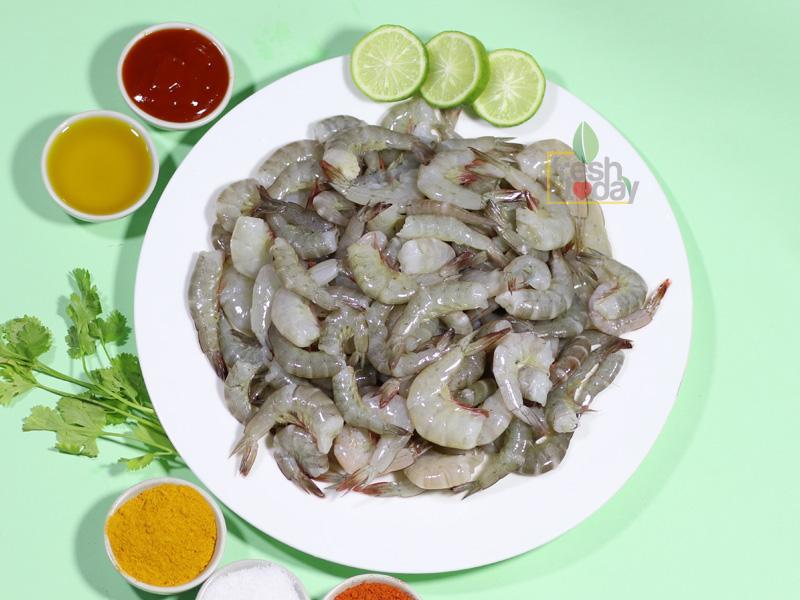 Horina shrimp Headless (No Head,With Shell,Tail)